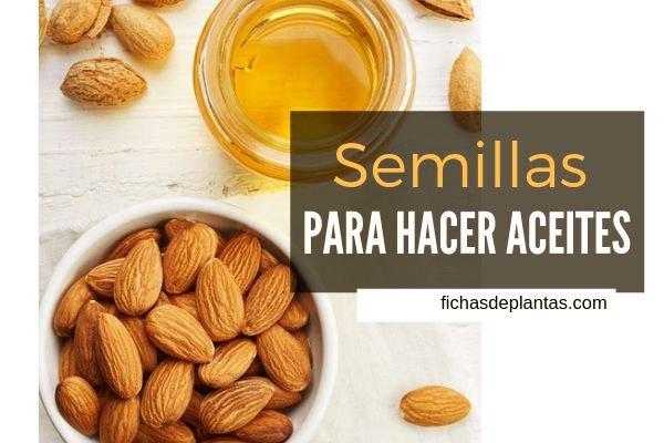 Semillas para Aceites, Cosmética