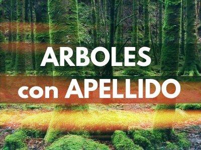 Arboles con Apellido en Fichas de Plantas